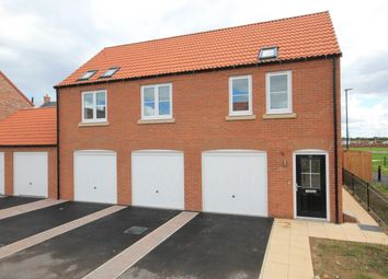Thumbnail 2 bed flat for sale in Poplar Crescent, Sowerby, Thirsk