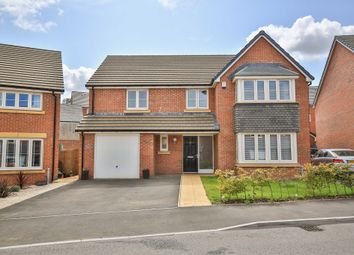 Thumbnail 4 bed detached house for sale in Harlech Road, Cardiff