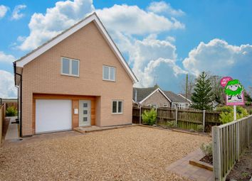 Thumbnail 4 bed detached house for sale in Station Road, Moulton, Spalding