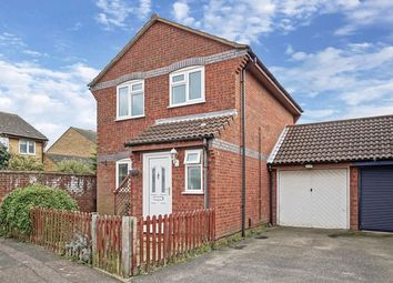 Thumbnail 3 bed detached house for sale in Carisbrooke Way, Eynesbury, St. Neots
