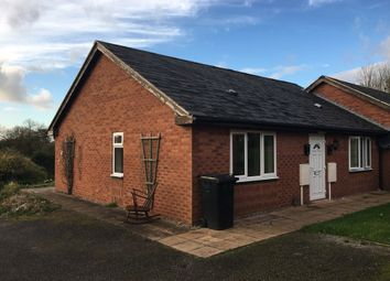 Thumbnail 1 bed semi-detached bungalow to rent in Tynefield Mews, Etwall, Derbys.