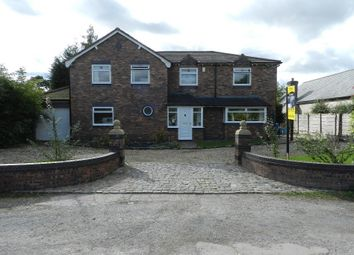 Thumbnail 4 bed detached house for sale in Lately Common, Glazebury, Warrington
