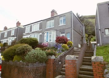 Thumbnail 3 bed semi-detached house for sale in Danyffynnon, Pen Y Cae, Port Talbot, West Glamorgan