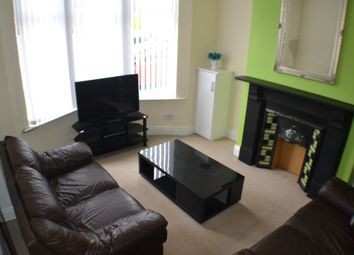Thumbnail 4 bed shared accommodation to rent in Rathbone Road, Wavertree