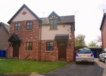 Thumbnail 2 bed semi-detached house for sale in Danebower Road, Trentham, Stoke On Trent