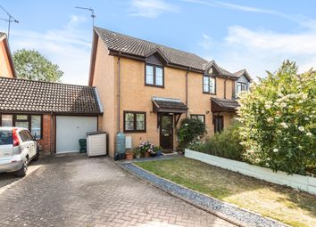 Thumbnail 2 bed semi-detached house for sale in Broadlands Close, Bentley, Farnham