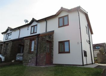 Thumbnail 2 bed semi-detached house for sale in Llys Gwyn, Maesteg, Maesteg, Mid Glamorgan