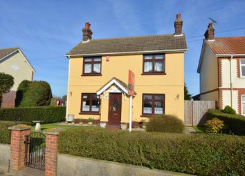 Thumbnail 3 bed detached house for sale in High Road, Trimley St. Martin, Felixstowe