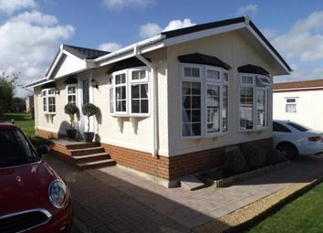 Thumbnail 2 bed mobile/park home for sale in Countryside Farm Park, Upper Beeding, Steyning, West Sussex