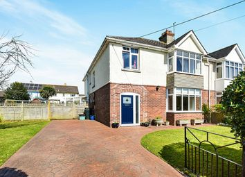 Thumbnail 4 bed semi-detached house for sale in Whiteway Road, Kingsteignton, Newton Abbot