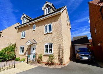 Thumbnail 4 bed detached house for sale in Skye Close, Orton Northgate, Peterborough