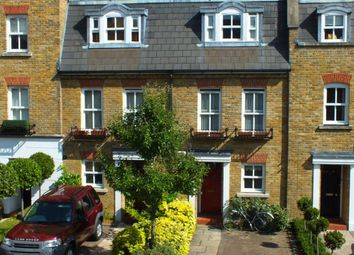 Thumbnail 4 bed terraced house to rent in Byron Mews, London