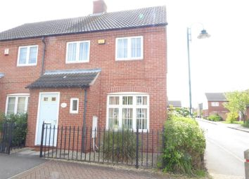 Thumbnail 3 bed end terrace house for sale in West Lake Avenue, Hampton Vale, Peterborough