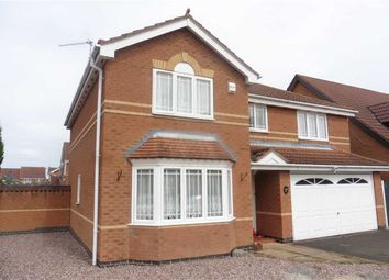 Thumbnail 4 bed detached house for sale in Willowdale, Hinckley