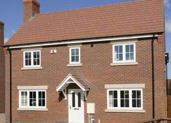 Thumbnail 4 bed detached house for sale in Stanton Road, Sapcote, Leicester