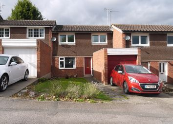 Thumbnail 3 bed town house for sale in Booth Close, Leicester