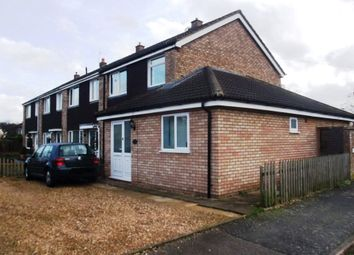 Thumbnail 3 bedroom end terrace house to rent in Beeson Close, Little Paxton, St Neots, Cambridgeshire