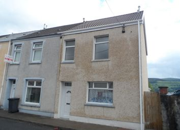 Thumbnail 3 bed end terrace house to rent in Regent Street, Aberdare