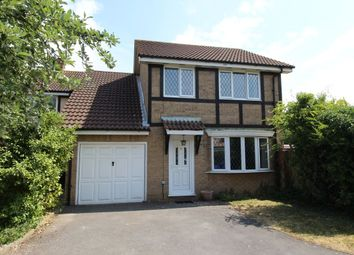 Thumbnail 4 bed detached house for sale in Caddy Close, Egham