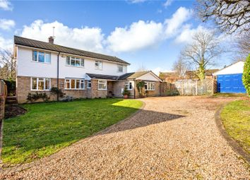 Thumbnail 4 bed detached house for sale in Alanbrooke Close, Hartley Wintney, Hook
