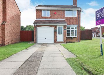 Thumbnail 3 bed detached house for sale in Oban Court, Immingham