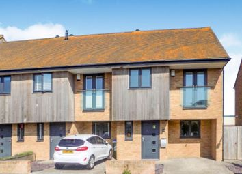Thumbnail 2 bedroom end terrace house for sale in Cricketfield Road, Seaford