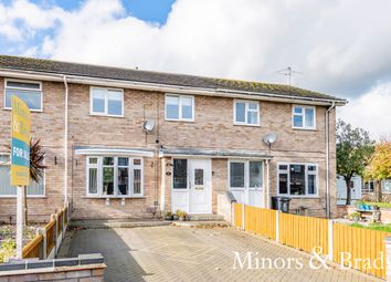 Thumbnail 2 bed terraced house for sale in Hawkins Close, Great Yarmouth