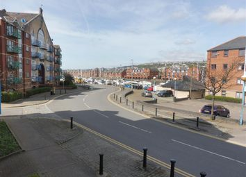Thumbnail 1 bed flat to rent in Catrin House, Trawler Road, Maritime Quarter, Swansea