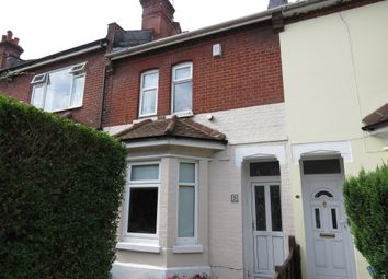 Thumbnail 3 bedroom terraced house for sale in Peveril Road, Southampton