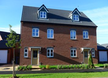 Thumbnail 3 bedroom semi-detached house for sale in Coventry Road, Rugby