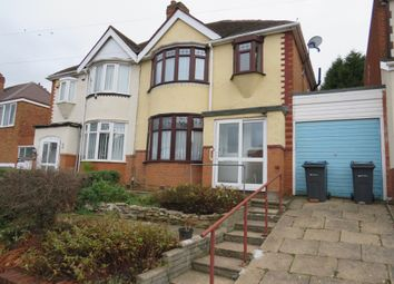 Thumbnail 3 bed semi-detached house for sale in Ebley Road, Handsworth Wood, Birmingham