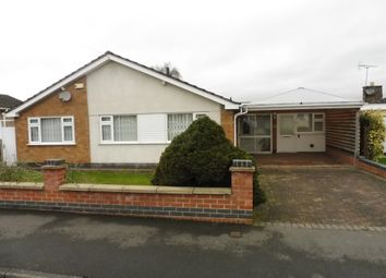 Thumbnail 3 bedroom detached bungalow for sale in Highland Avenue, Kirby Muxloe, Leicester