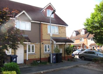 Thumbnail 3 bed town house for sale in Poppy Close, Northolt