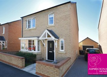 Thumbnail 4 bed detached house for sale in Boughton Lane, Raunds, Northamptonshire