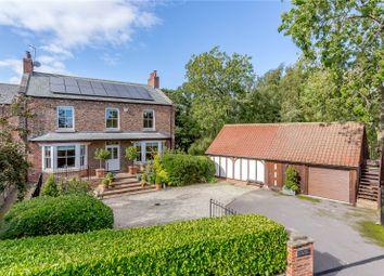 Poplar Farm, Wormald Green, Harrogate, North Yorkshire HG3. 6 bed link-detached house for sale