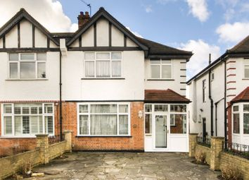 Thumbnail 3 bed semi-detached house to rent in Aylward Road, Merton Park
