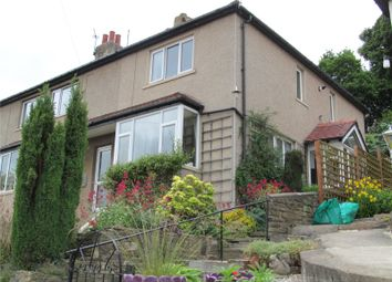 Thumbnail 2 bed semi-detached house for sale in Malvern Crescent, Riddlesden, Keighley, West Yorkshire