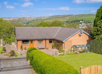 Thumbnail 3 bed detached bungalow for sale in Carrs Road, Marsden, Huddersfield