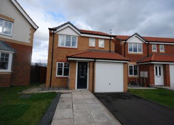 Thumbnail 3 bed detached house for sale in Torrance Close, Ashington