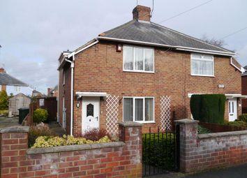 Thumbnail 2 bed semi-detached house for sale in Farnon Road, Coxlodge, Gosforth