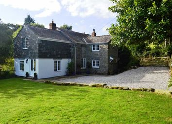Thumbnail 4 bed detached house for sale in Cardinham, Bodmin