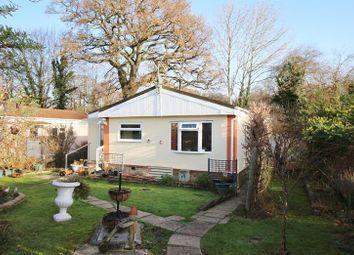 Thumbnail 3 bed mobile/park home for sale in Whitehill Park, Whitehill, Bordon