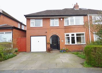 Thumbnail 4 bed semi-detached house for sale in Halton Road, Great Sankey, Warrington
