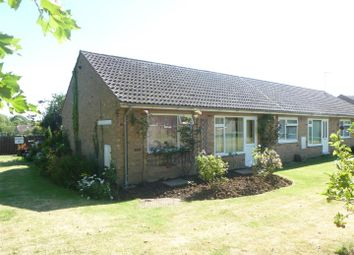 Thumbnail 1 bedroom terraced bungalow for sale in Oaklands Close, Wistow, Huntingdon