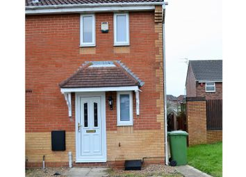 Thumbnail 1 bedroom semi-detached house to rent in Moulton Close, Grimsby, South Humberside