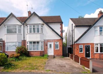 Thumbnail 3 bed semi-detached house to rent in Wilson Road, Littleover, Derby