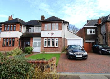 Thumbnail 5 bed semi-detached house for sale in The Ridgeway, Southgate