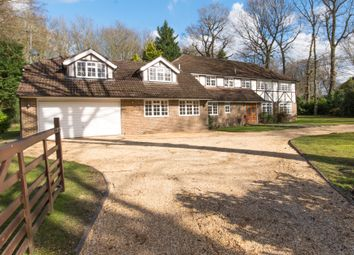 Thumbnail 5 bed detached house to rent in Albany Close, Esher