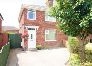 Thumbnail 3 bed semi-detached house for sale in Nant Garmon, Mold