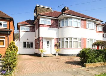 Thumbnail 5 bedroom semi-detached house for sale in St. Edmunds Drive, Stanmore